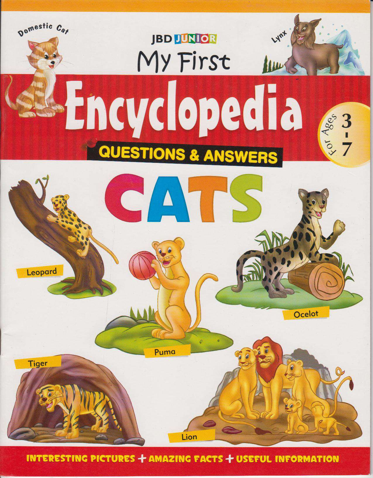 My First Encyclopedia Cats Questions & Answers