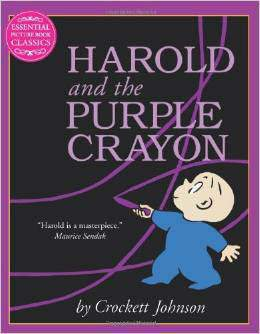 Harold and the Purple Crayon Essential Picture
