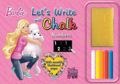 Lets Write With Chawk Barbie The Numbers -