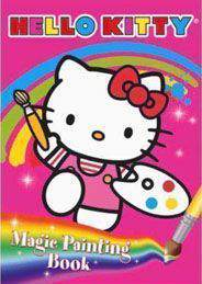 Hello Kitty Magic Painting Book