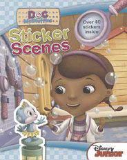 Disney Doc Mcstuffins Sticker Scenes  -