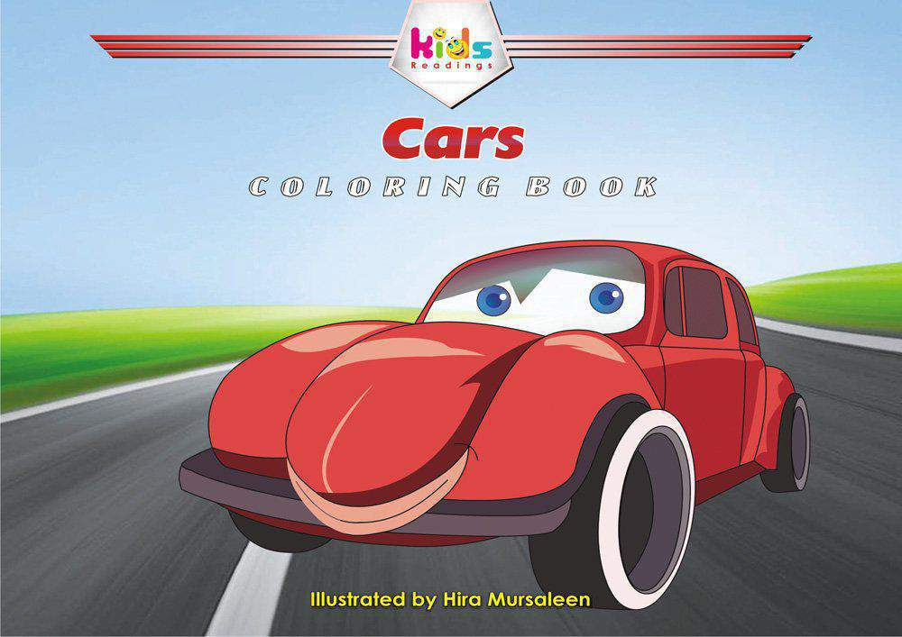 CARS COLORING BOOK -