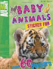 Baby Animals Sticker Book -