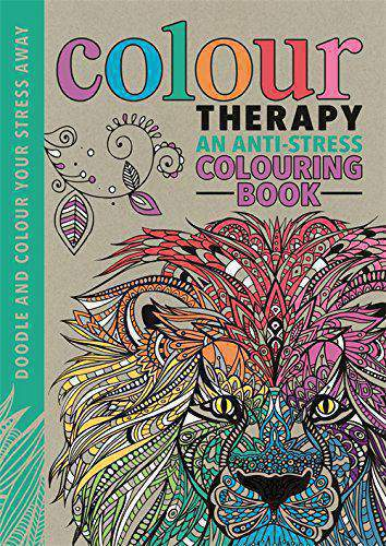 Colour Therapy An AntiStress Colouring Book Creative For GrownUps