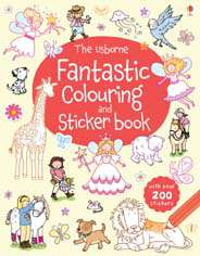 The Usborne Fantastic Colouring and Sticker Book (First Colouring Books)