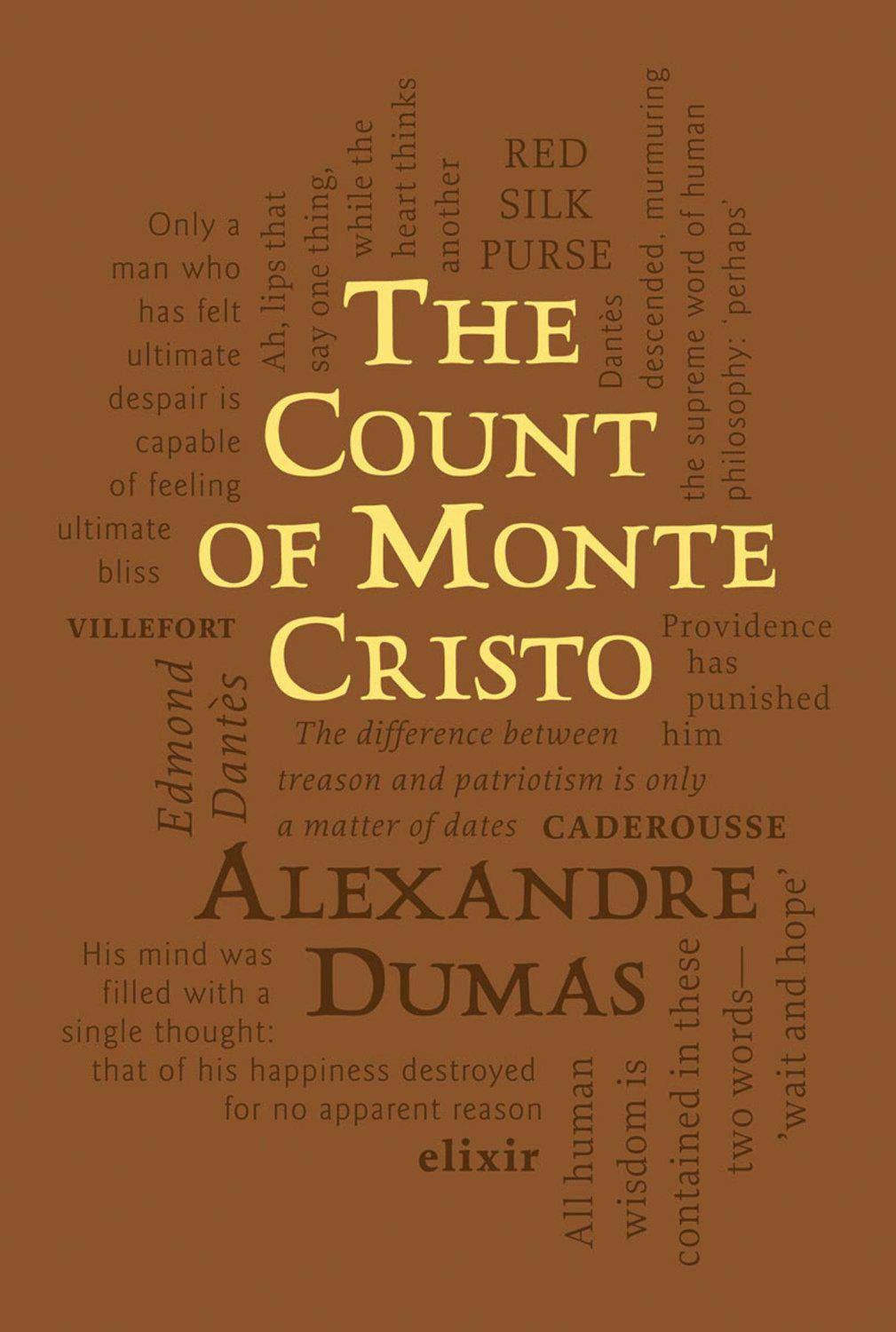 The Count of Monte Cristo Word Cloud