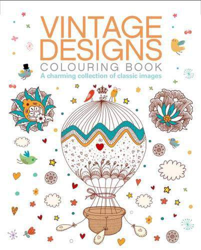 Vintage Colouring Book 2 Colouring Books