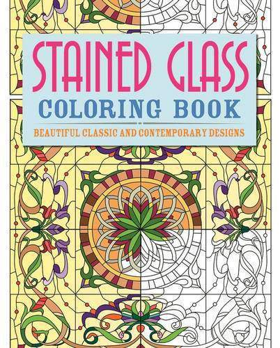 Stained Glass Colouring Book Colouring Books