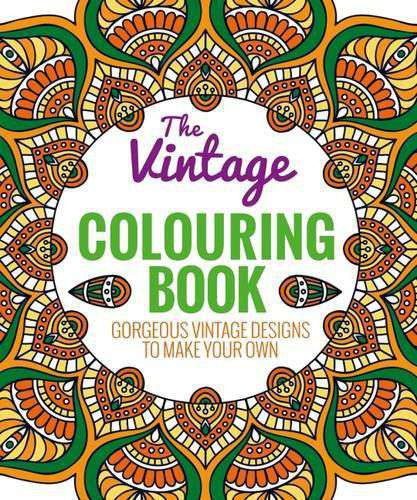 The Vintage Coloring Book Colouring Book