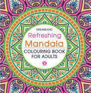 Refreshing Mandala Colouring Book for Adults Book 2