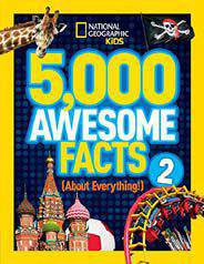 5000 Awesome Fas About Everything v2 National Geographic Kids -