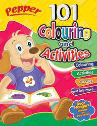 101 Colouring and Activities Pepper