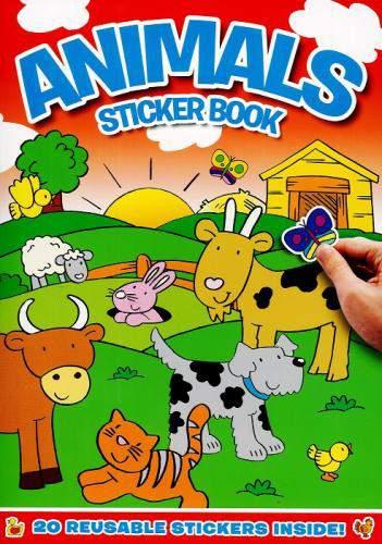 Animals Sticker Books