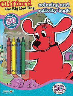 clifford the big red dog coloring and Activity book