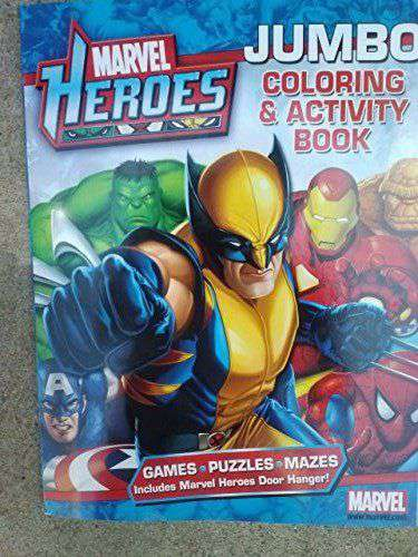Marvel Heroes Jumbo