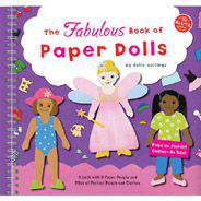 KLUTZ The Fabulous Book of Paper Dolls