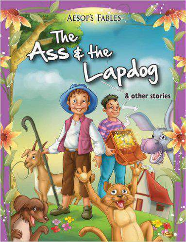 The Ass & the Lapdog 1 Aesop Fables