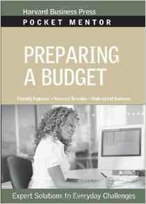 Preparing a Budget Pocket Mentor