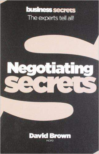 Business Secrets Negotiating Collins Business Secrets Paperback
