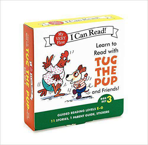 Learn to Read with Tug the Pup and Friends Box Set 3 Levels Included EG My Very First I Can Read