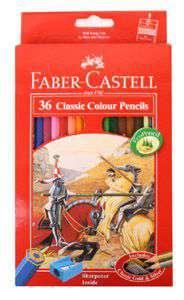 FaberCastell Classic Colour Pencil 36 Pcs