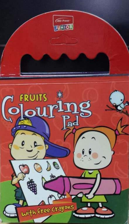 Fruits Colouring Pad