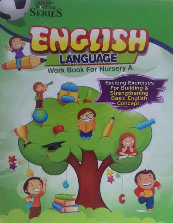 English Language Work book Nursery A