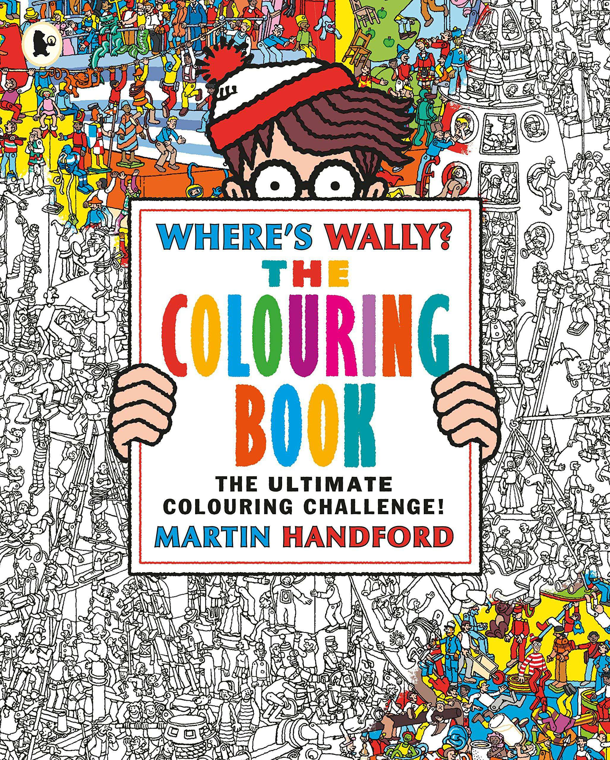 Where Wally The Colouring Book