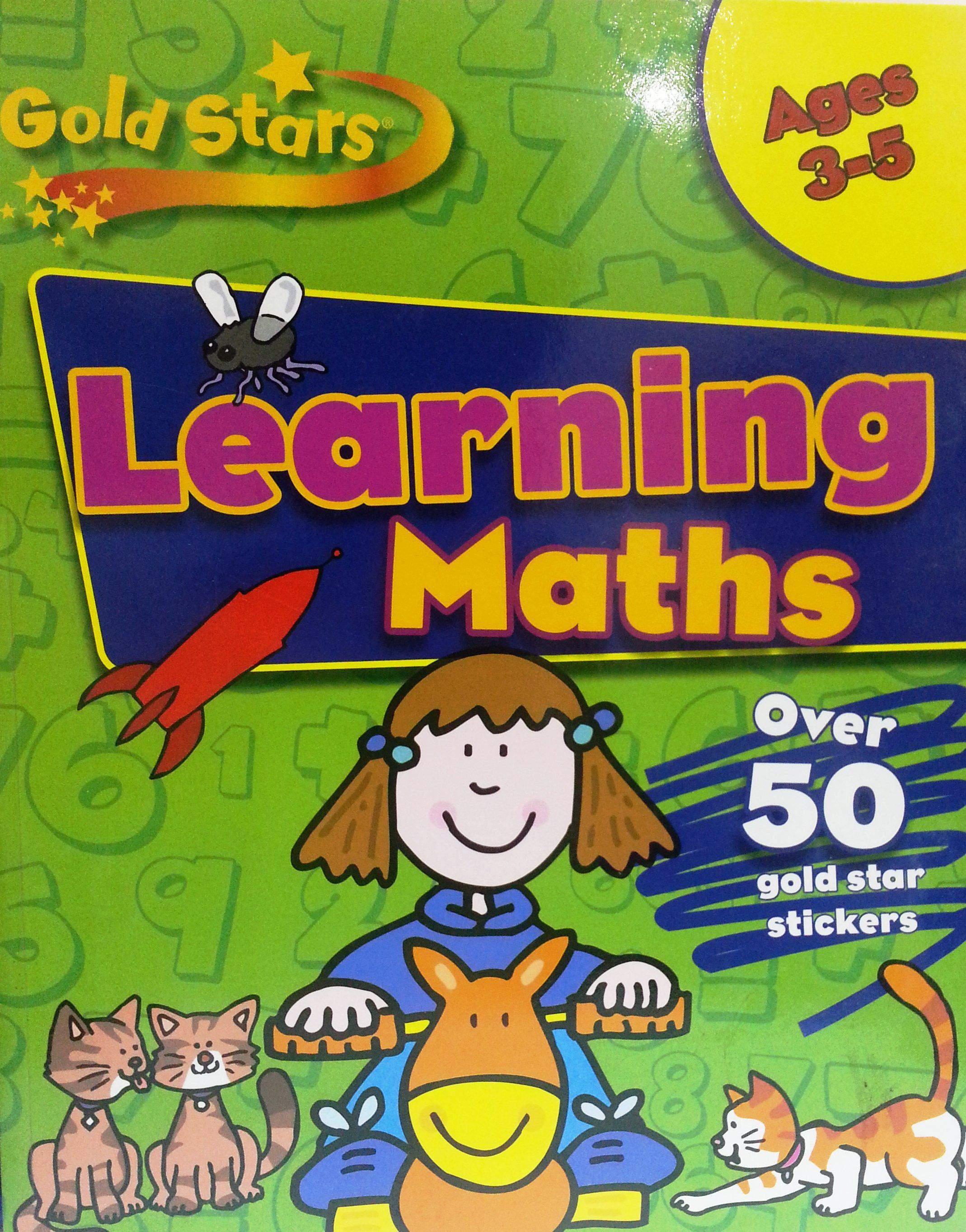 Gold stars Learning to Math 35Gold Stars Pre School Workbook
