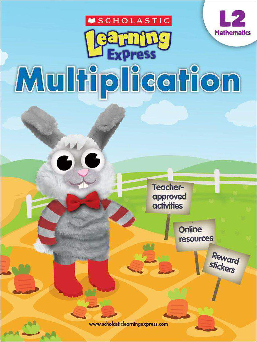 Scholastic Learning Express Level 2 Multiplication -