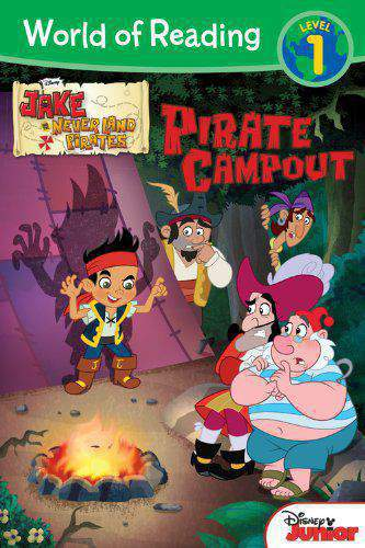 World of Reading Jake and the Never Land Pirates Pirate Campout Level 1