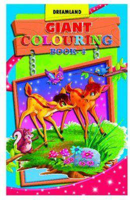 Giant Colouring Book  4 -