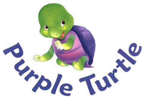 Purple Turtle Colouring Book 4