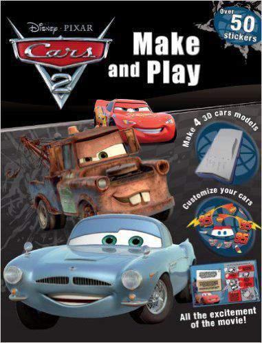 Disney Pixar Cars Make And Play