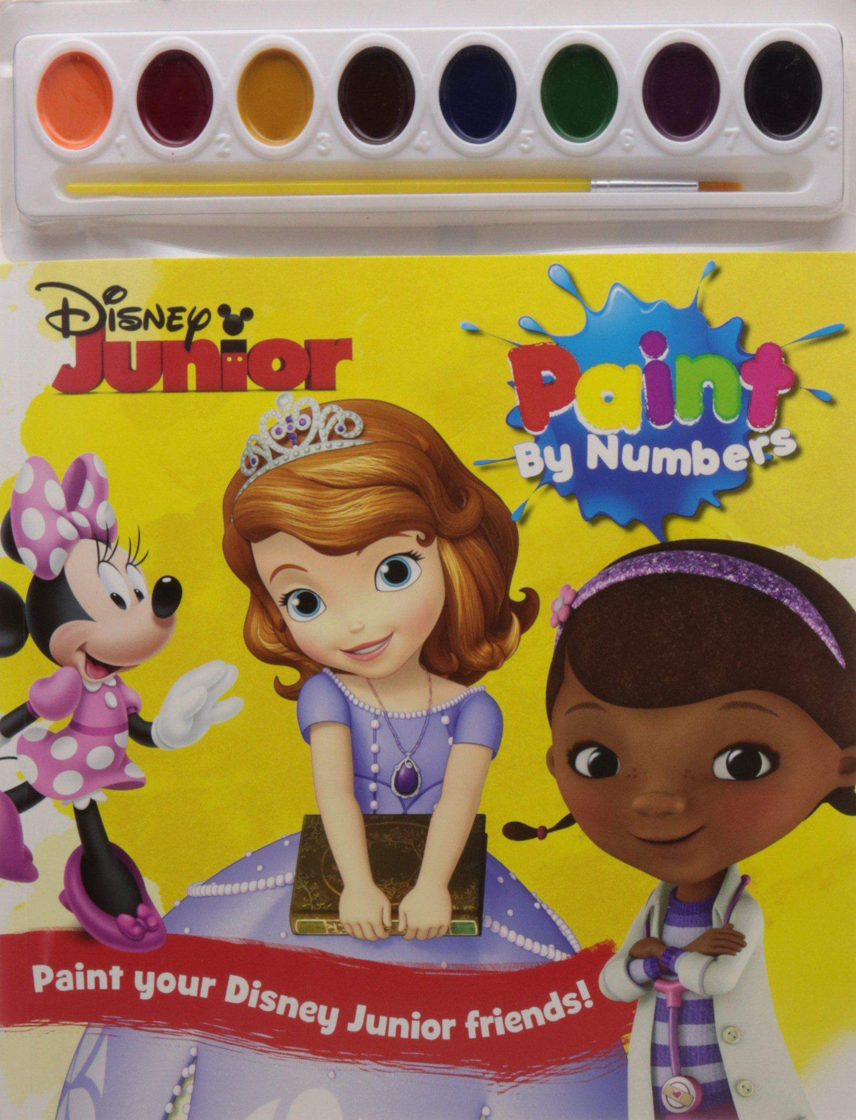 Disney Junior Paint by Numbers -