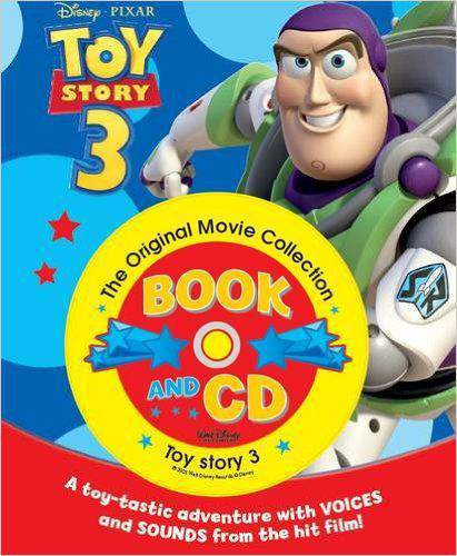 Disney Storybook and CD Toy Story 3 Disney Storybook & CD