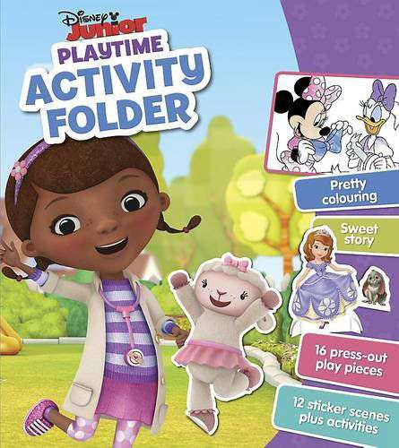 Disney Junior Playtime Activity Folder