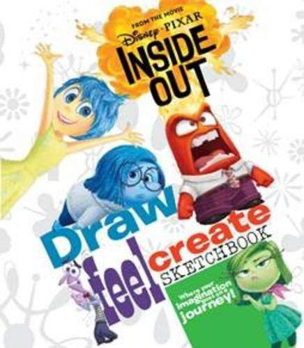 Disney Pixar Inside Out Draw Feel Create Sketcook