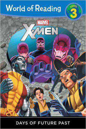 World of Reading X Men Days of Future Past Level 3