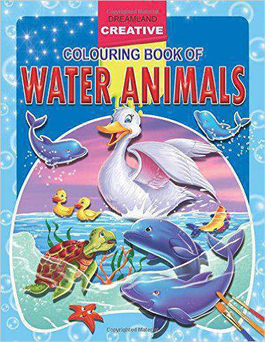 Creative Colouring Book  Water Animals