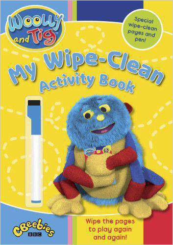 Woolly and Tig My WipeClean Activity Book