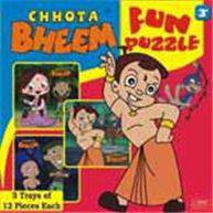 Chhota Bheem Fun Puzzle 13 Trays of 12 Pieces Each