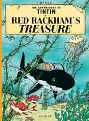 The Adventures Of Tintin Red Rackhams Treasure