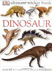Dinosaur Ultimate Sticker Book -