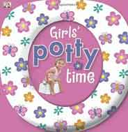 Girls Potty Time Board Book