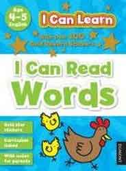I Can Learn I Can Read Words Age 45