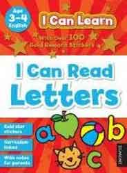 I Can Learn Letters Age 34