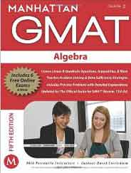 Manhattan GMAT: Algebra   5th Edition