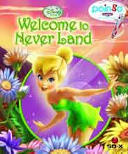 Disney Fries Welcome to Never Land Poingo Story Reader Book