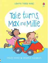 Toddler Books Take Turns Max and Millie